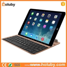 Alibaba express High Quality Aluminium Magnetic wireless Bluetooth Keyboard for iPad Air with dual tablet stand
