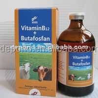 Vitamin B12 + Butafosfan injection for veterinary medicines