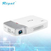 Mini pocket portable dlp 3D led android business projector with wifi