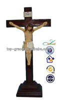 Christian figurine Wooden cross religious Jesus crucifix