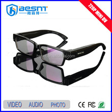 2015 New Products Security System Hd 1080p hidden camera wifi remote control hidden camera sunglasses style (BS-783P)