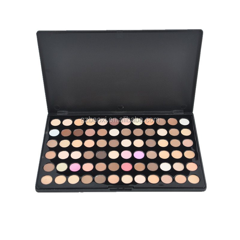 Wholesale!! 72 color cosmetic matte eyeshadow make up palette