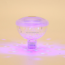 Pp Material Baby Bathtub Toy With Rgb Led Night Light