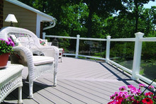 Synthetic wood fiber / Timber composite outdoor flooring prices