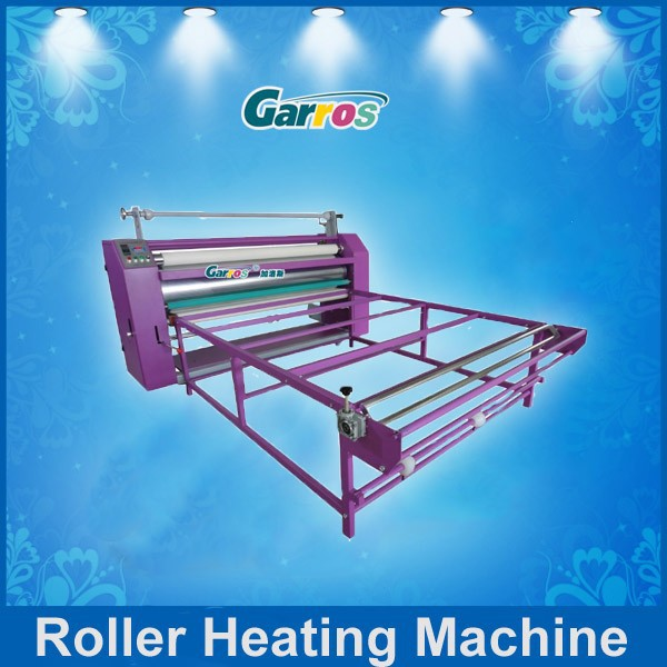 1.7m roller heating transfer machine for sublimation printing fabrics