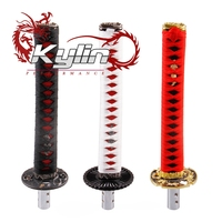 kylin racing customization Japanese sword handle style automatic gear shift knob