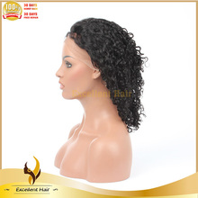 Factory Natural Color African American Aliexpress Virgin Remy curly Human Hair Full Lace Pictures Of Wigs For Ladies