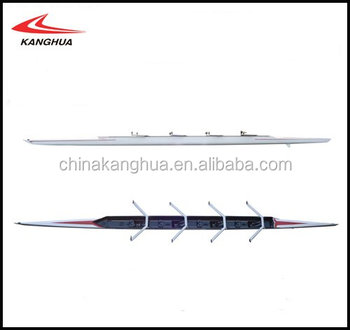 Carbon bow rigger/Aluminium wing rigger 4x scull boat / rowing boat