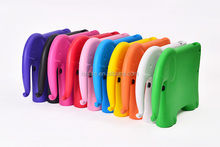 Colorful Silicone EVA Handbag Case For Apple ipad air/5 elephant EVA