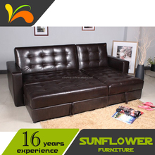 Sectional Leather Sofa Comer Bed Design