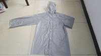 Adult 0.08mm 100% PEVA Raincoat for Promotion