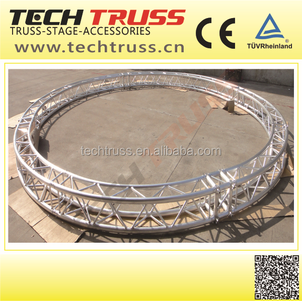With TUV certification Circle roof truss , circle aluminum truss