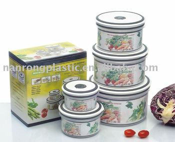 Hot sell modern airtight plastic food container NR-5146 plastic container