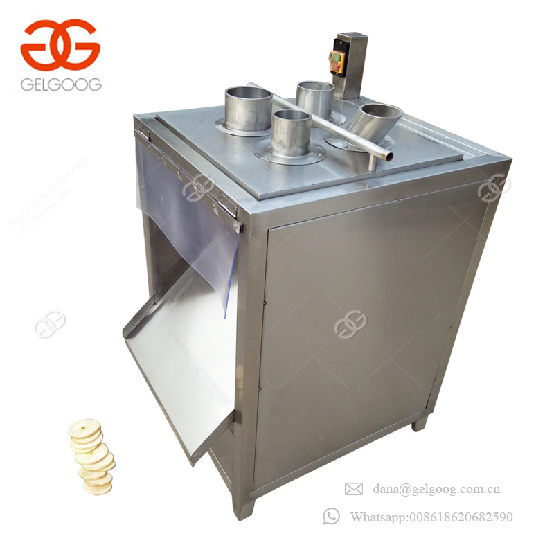 Easy To Operate Commercial Onion Potato Chips Mushroom Slicer Machinery Yam Slicing Machine