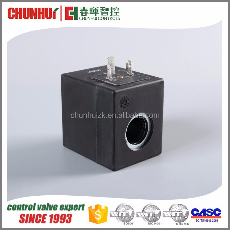 High frequency Adjustable Gas control solenoid valve coil