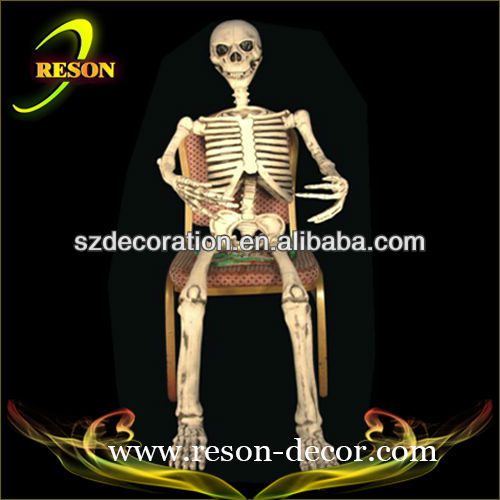 hot sale lifesize skeleton halloween decorations outdoor