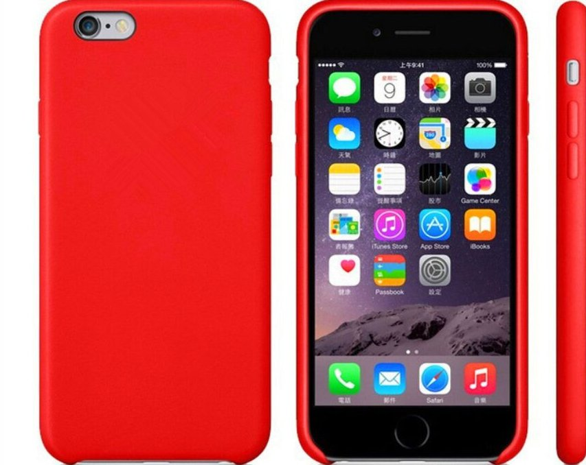 Candy Color Silicone Cell Phone Skins Phone Case for iPhone 7 iPhone Plus Case