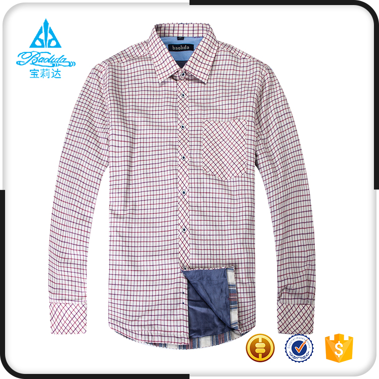Custom new gents open design pattern lining men latest pent shirt