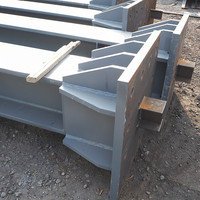 Weld beam heavy duty steel s355jr galvanized slotted steel i beam steel cold folded l beam