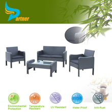 Aluminum+PE RATTAN+Cushion Garden Sofa Set Furniture UK/ Modern Outdoor PE Rattan Garden Set