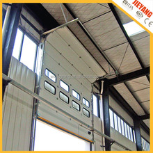 New hot sale automatic industry door with steel material and lighting windows