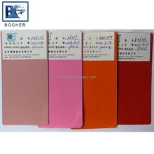 Pink red thermosetting powder paint coating