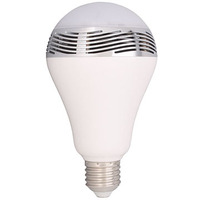 New energy-saving Music Light Bulb Smart Led Bluetooth 4.0 E27 Charge RGB Color Dimmable by IOS / Android