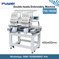 Fuwei 1502 second hand embroidery machine china embroidery machine spare parts for hat