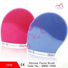 Super face washing machine facial face dirt remove soft silicone face brush cleanser Facial Cleansing Tool Genuine