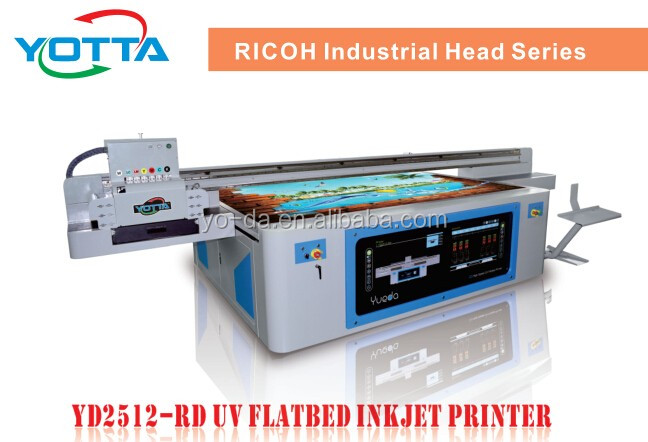 High Resolution UV Led flatbed 3D printer 3D wall ceramic tiles digital printing machine