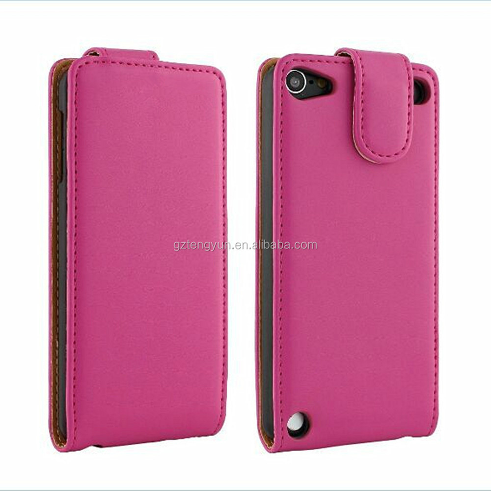 For ipod touch 5 leather smart csae, leather smart case for ipod touch 5