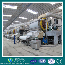 paper machinery industry recycle paper making machine