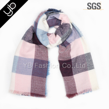 winter fashion pashmina blanket scarf plaid women