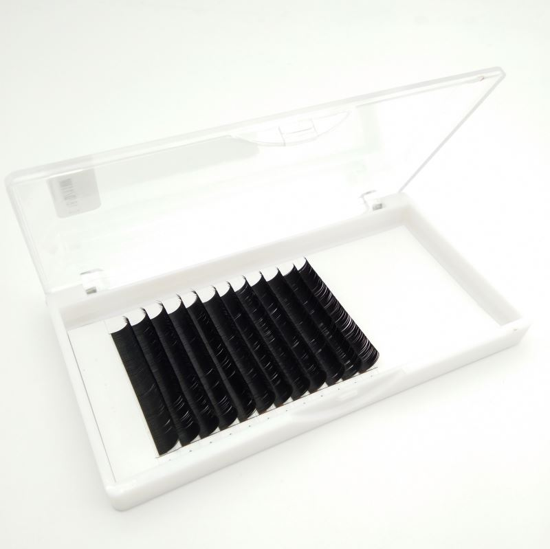Black Matte Lashes Individual Unique Stickers Lashes Eyelash Extension