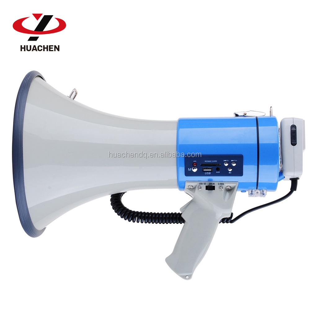 Police used with SD CARD USB wireless megaphone