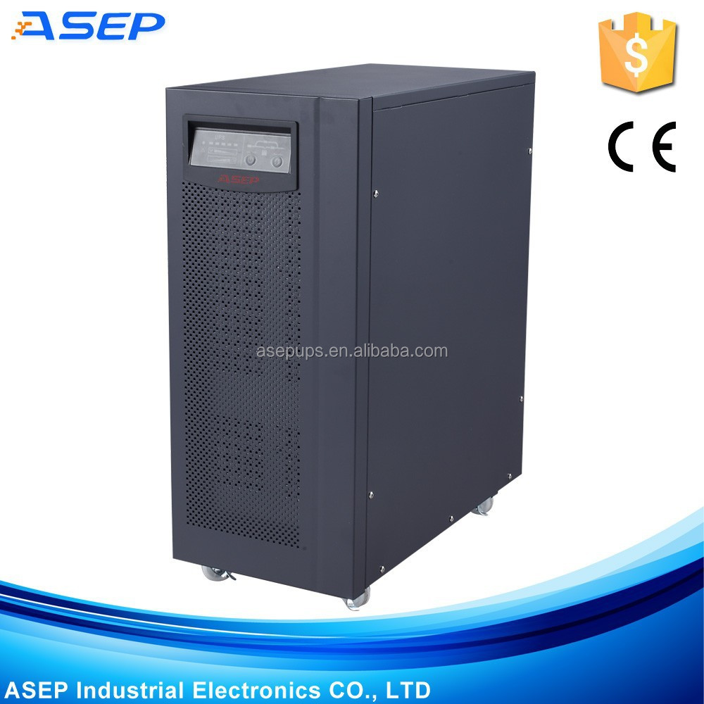 3 Phases / 1 Phase High Frequency Online 6 Kva Ups For Elevators