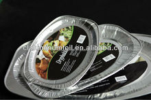 Best selling cheap price good quality 100% food grade disposable pollution free aluminum foil container