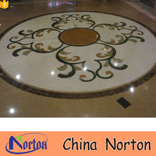Mosaic pattern marble medallion table top NTMS-MM023A