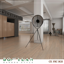 17mm Thickness Bamboo Wood Texture cork flooring