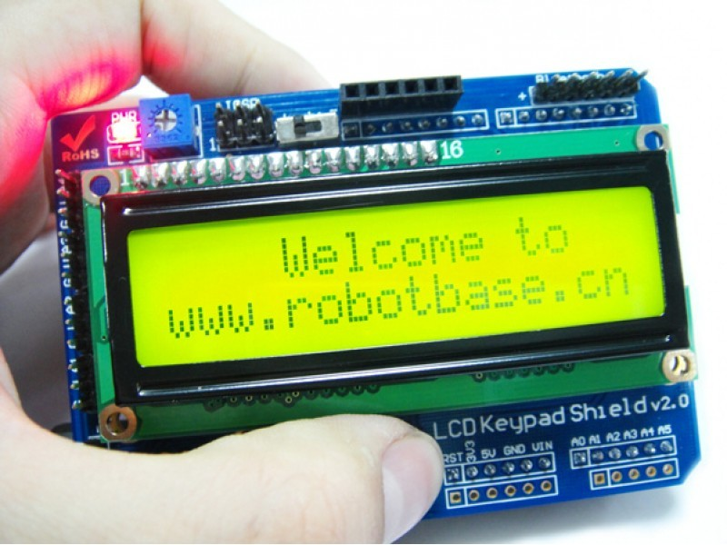 LCD1602 keypad shield v2.0 Arduino-Compatible
