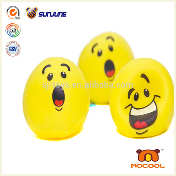happy face squeeze ball