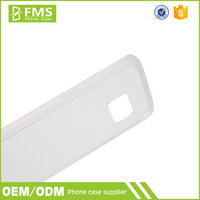 Frosted TPU Bumper Back Cover Clear PC Case For Samsung Mobile Phone Case