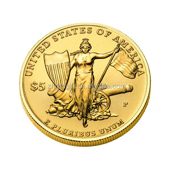 Wholesale cheap custom challenge metal gold souvenir coins