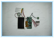 2014 popular 7 inch LCD tft video module for greeting brochure card