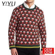 2017 hot sale mens funny Cute Santa christmas jumper ugly xmas sweater