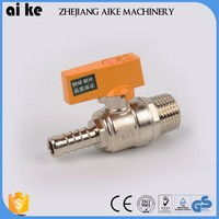 nickel plated brass valve refrigerant natural gas check valve