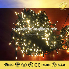led permanent christmas lights outdoor decoration rattan string light