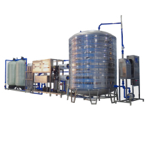 Automatic high efficiency RO system water treatment machine