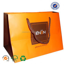 U color Customized newspaper carrier bags