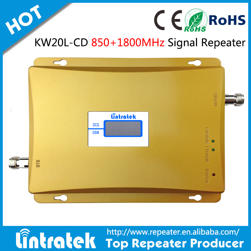China factory OEM CDMA/DCS 2G/3G 850/1800mhz Mobile Phone widely cover 2100mhz 3g signal link repeater